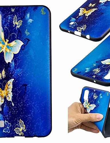 Case สำหรับ Samsung Galaxy J7 (2017) / J6 (2018) / J6 Plus Pattern ปกหลัง Butterfly Soft TPU