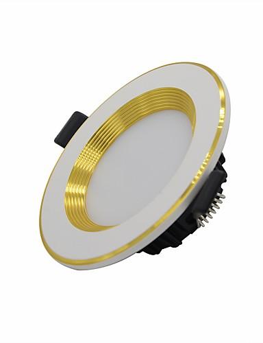 preiswerte LED Deckenlichter-1pc 5 W 250-300 lm 10 LED-Perlen LED Deckenstrahler Warmes Weiß Natürliches Weiß Weiß 85-265 V kommerziell Zuhause / Büro Wohn- / Esszimmer