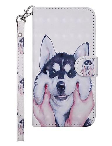 Case สำหรับ Samsung Galaxy Galaxy S10 E Wallet / Card Holder / with Stand ตัวกระเป๋าเต็ม Dog Hard หนัง PU