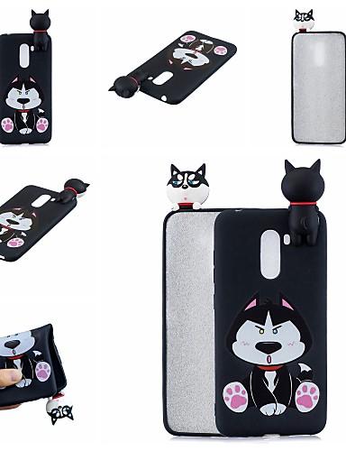 Case สำหรับ Xiaomi Xiaomi Redmi Note 5 Pro / Xiaomi Redmi Note 6 / Xiaomi Pocophone F1 Pattern ปกหลัง Dog / การ์ตูน Soft TPU / Xiaomi Redmi Note 4X / Xiaomi Redmi Note 4 / Xiaomi Redmi 4A