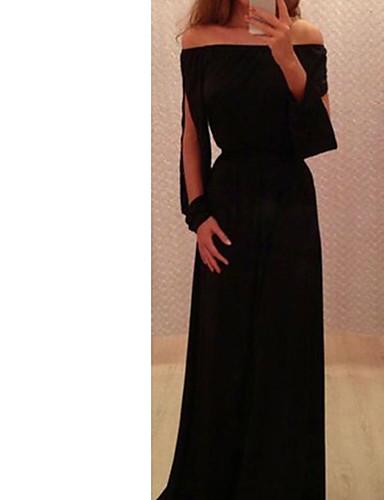 levne Maxi šaty-dámské tričko s krátkým rukávem černé s m l xl