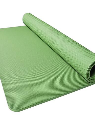povoljno Vježbanje, fitness i joga-Yoga Mat Nježno Elastičan Ljepljiv TPE Za Arm Green purpurna boja Plava