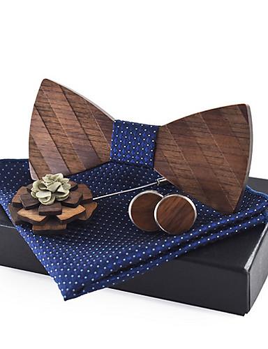 baratos Gravatas e Gravatas Borboleta-Homens Básico Gravata Borboleta Sólido