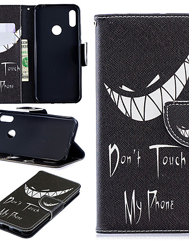 Case สำหรับ Apple iPhone XS / iPhone XR / iPhone XS Max Card Holder / Pattern ตัวกระเป๋าเต็ม สัตว์ / การ์ตูน / ต้นไม้ Hard หนัง PU / TPU