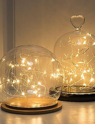 preiswerte Hochzeiten & Feste-LED-Lampen Kunststoff Hochzeits-Dekorationen Weihnachten Hochzeit Ganzjährig