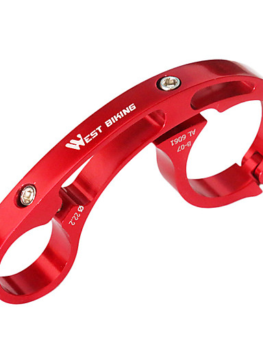 povoljno Ručke i lule volana-Produživač ručke za bicikl Izdržljivost Jednostavna primjena za Cestovni bicikl Mountain Bike Aluminum Alloy Pink žuta Red