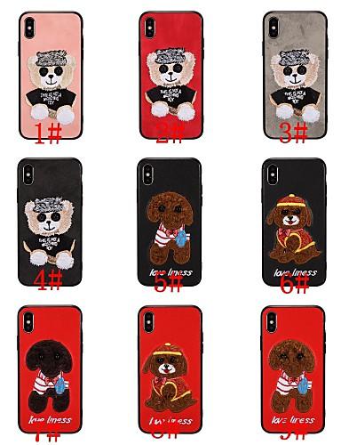 Case สำหรับ Apple iPhone XS / iPhone XR / iPhone XS Max Pattern ปกหลัง สัตว์ / การ์ตูน Soft TPU