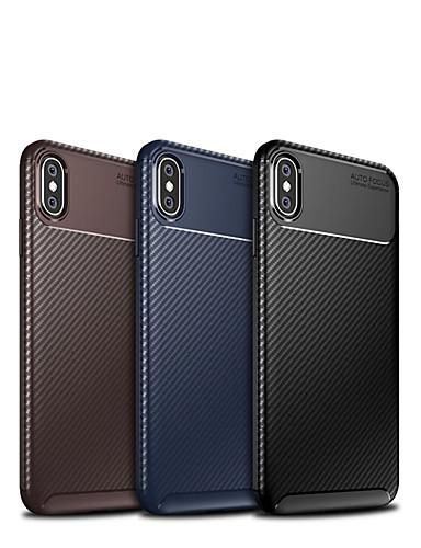 Case สำหรับ Apple iPhone XS Max Ultra-thin ปกหลัง เลขาคณิต Soft TPU
