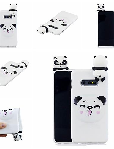 Case สำหรับ Samsung Galaxy S9 / S9 Plus / S8 Plus Pattern ปกหลัง การ์ตูน / Panda Soft TPU