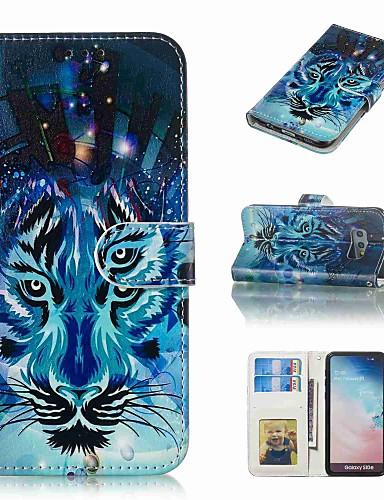 Case สำหรับ Samsung Galaxy S9 / S9 Plus / S8 Plus Wallet / Card Holder / Flip ตัวกระเป๋าเต็ม สัตว์ Hard หนัง PU