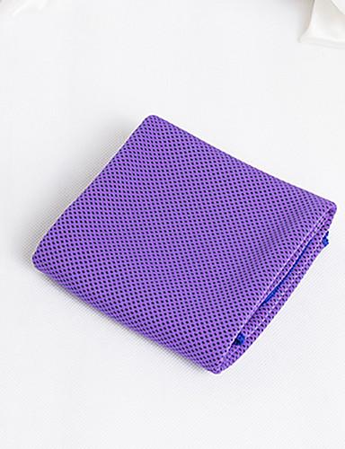 povoljno Vježbanje, fitness i joga-Ručnik za rashlađivanje Ultra Light (UL) Poliester Mikrofibra za Yoga 30*100 cm Pink Ljubičasta Blue / Bijela