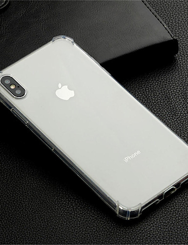 Case สำหรับ Apple iPhone XS / iPhone XR / iPhone XS Max Shockproof / Transparent ปกหลัง โปร่งใส Soft TPU