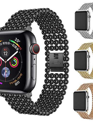 สายนาฬิกา สำหรับ Apple Watch Series 5/4/3/2/1 Apple หัวกลัดแบบคลาสสิก สแตนเลส สายห้อยข้อมือ