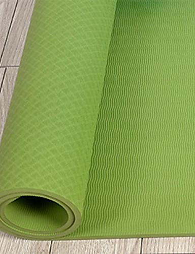 povoljno Vježbanje, fitness i joga-Yoga Mat Nježno Elastičan Ljepljiv TPE Za Arm Green