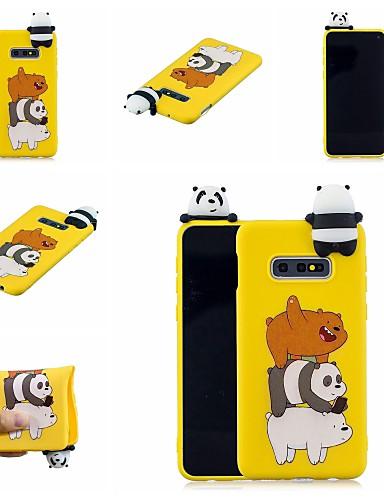 Case สำหรับ Samsung Galaxy S9 / S9 Plus / S8 Plus Pattern ปกหลัง สัตว์ / การ์ตูน Soft TPU