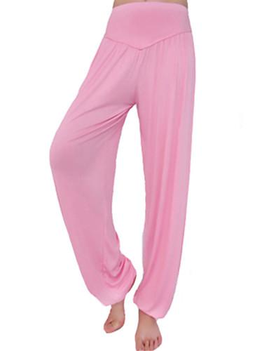 povoljno Vježbanje, fitness i joga-Žene Harem hlače Hlače za jogu Modal Spandex ženske sportske hlače Donji Odjeća za rekreaciju Prozračnost Quick dry Puha Izzadás-elvezető