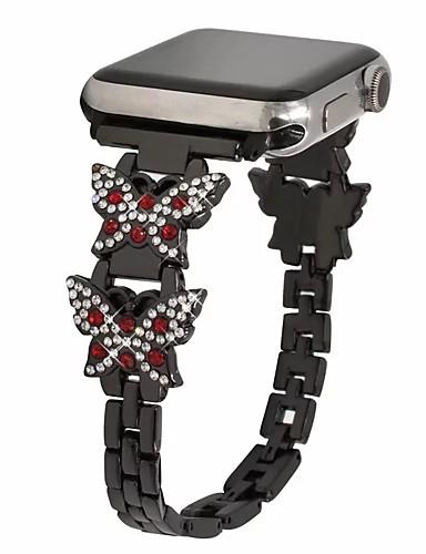 สายนาฬิกา สำหรับ Apple Watch Series 5/4/3/2/1 Apple การออกแบบเครื่องประดับ สแตนเลส สายห้อยข้อมือ