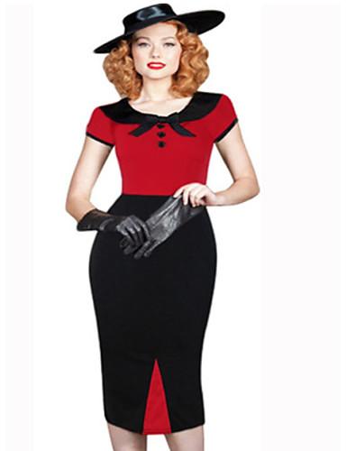 женское платье миди bodycon красное s m l xl