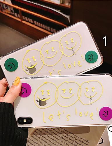 Case สำหรับ Apple iPhone XS / iPhone XR / iPhone XS Max Pattern ปกหลัง การ์ตูน Soft TPU