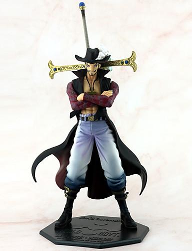 povoljno Maske i kostimi-Anime Akcijske figure Inspirirana One Piece Dracula Mihawk Sebastian Michaelis PVC 25 cm CM Model Igračke Doll igračkama