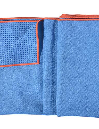povoljno Vježbanje, fitness i joga-Yoga Mat Ultra Slim Elastičan Ljepljiv Složiv Izzadás-elvezető najfiniji vlakana Za Crn Arm Green Tamno siva