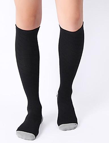 ราคาถูก Sport Socks-สำหรับผู้ชาย สำหรับผู้หญิง ถุงเท้าสำหรับวิ่ง ถุงเท้ากีฬา / ถุงเท้ากีฬา ถุงเท้าขี่จักรยาน ถุงเท้า ถุงเท้าการบีบอัด ถุงเท้ายาว ระบายอากาศ แห้งเร็ว ปลอกรัดน่อง วิ่ง 1 คู่ กีฬา กราฟฟิค ไนลอน / ยืด