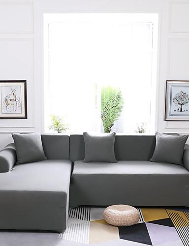preiswerte Textilien für Zuhause-Sofabezug Klassisch Garngefärbt Polyester Überzüge