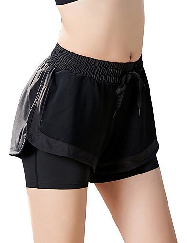 povoljno Odjeća za fitness, trčanje i jogu-Žene Hlače za jogu Dungi Trčanje Fitness Trening u teretani Kratke hlače Odjeća za rekreaciju Prozračnost Ovlaživanje Quick dry Antistaticna Rastezljivo Slim