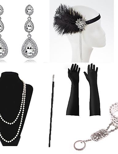 Vampir Schmuck Set Dracula Kette Ringe Gothic Halskette Halloween Accessoires
