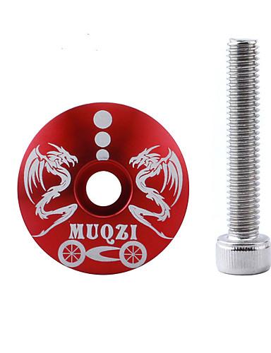 povoljno Ručke i lule volana-Poklopac / poklopac za bicikl Mountain Bike / biciklom na cesti / Bicikl fixie Mala težina / Izdržljivost / Jednostavna primjena Aluminum Alloy Crn / Red / Crno-bijeli