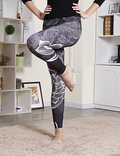 preiswerte Fitness, Laufen & Yoga-Bekleidung-Damen Yoga-Hose Modisch Laufen Fitness Strumpfhosen / Lange Radhose Leggins Sportkleidung Feuchtigkeitsabsorbierend Dehnbar Schlank