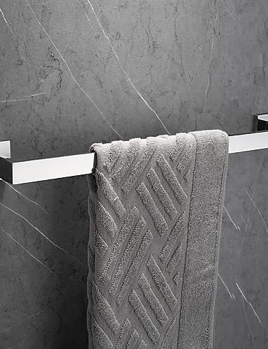 preiswerte Accessoires für das Bad-Handtuchhalter Neues Design / Kreativ Moderne / Modern Metal 1pc - Bad 1-Handtuchstange Wandmontage