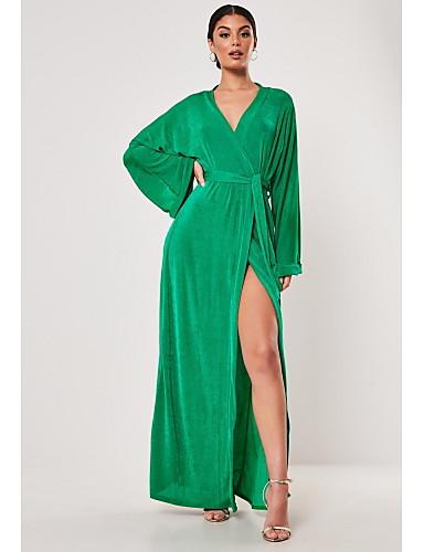 TS@ Damen Street Schick Elegant Swing Kleid - mit ...
