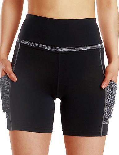 povoljno Vježbanje, fitness i joga-Žene Kratke Hlače za jogu Color block Fitness Kratke hlače Odjeća za rekreaciju Prozračnost Puha Izzadás-elvezető Butt Lift Rastezljivo Slim