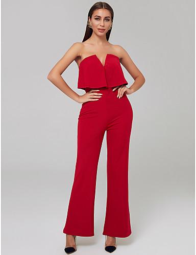 84e3eb111 أفرول بدون حمالات طول الأرض جورسيه حفلة رسمية فستان مع كشاكش بواسطة TS  Couture® 7203230 2019 – $29.99