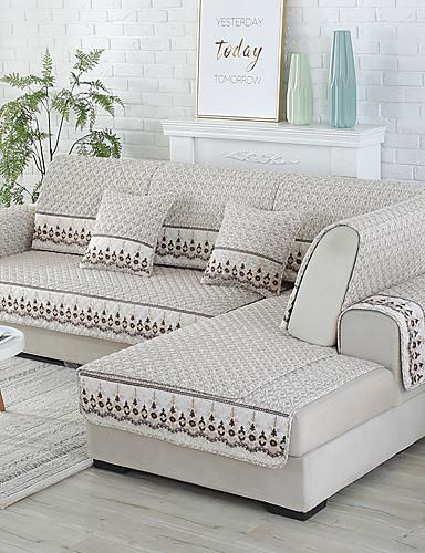 preiswerte Zimmer-Sofabezug / Sofakissen Zeitgenössisch Gesteppt Baumwolle Überzüge
