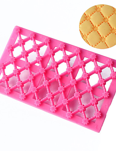 preiswerte Küche & Haushalt-1pc Kunststoff 3D Kreative Küche Gadget Plätzchen Für Kuchen Rechteckig Back- & Kuchenutensilien Backwerkzeuge