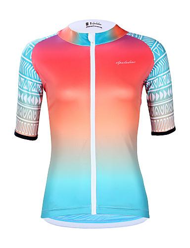 povoljno Biciklističke majice-ILPALADINO Žene Kratkih rukava Biciklistička majica Pink Postupno Bicikl Biciklistička majica Majice UV otporan Ovlaživanje Quick dry Sportski Elastan Terilen Odjeća