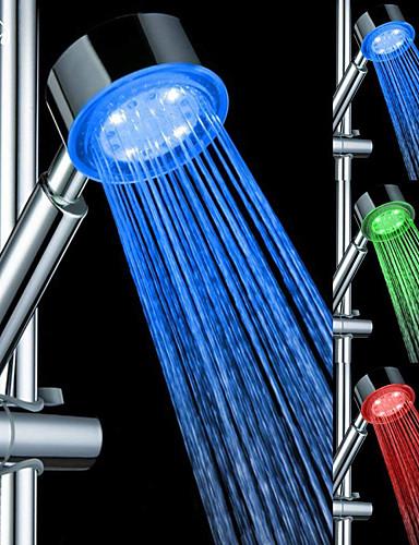 preiswerte Handbrause-moderne handbrause chrom / kunststoff merkmal - regendusche / led / dusche, duschkopf