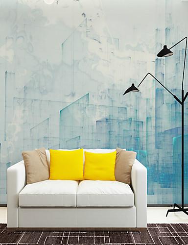 preiswerte Tapete-Tapete / Wandgemälde / Wandtuch Segeltuch Wandverkleidung - Klebstoff erforderlich Blumen / Art Deco / Muster