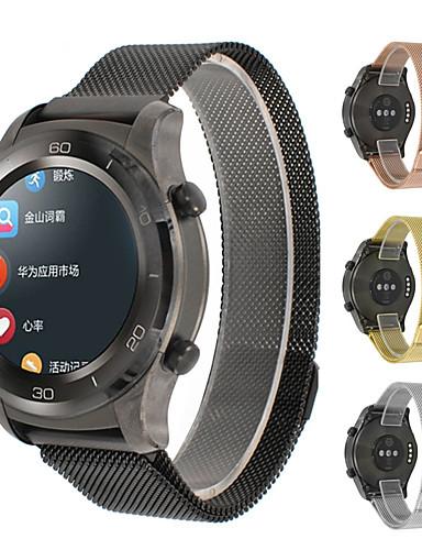 צפו בנד ל Watch 2 Pro Huawei לולאה בסגנון מילאנו מתכת רצועת יד לספורט