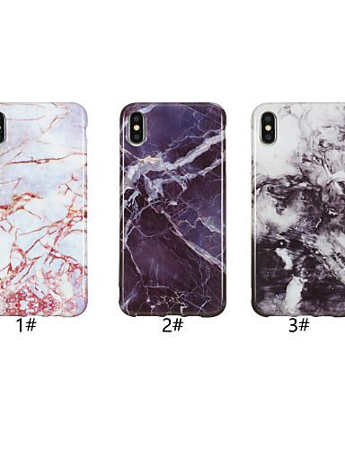 מגן עבור Apple iPhone XS / iPhone XR / iPhone XS Max IMD / תבנית כיסוי אחורי שיש רך TPU