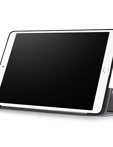 מארז תפוח iPad ipad mini 5 / ipad אוויר חדש (2019) אוטומטי לישון / להתעורר / מגנטי / רזה מאוד גוף מלא במקרים פרח / נוף / שמיים קשה עור pu עבור ipad (2017) / ipad Pro 10.5 / ipad מיני 4