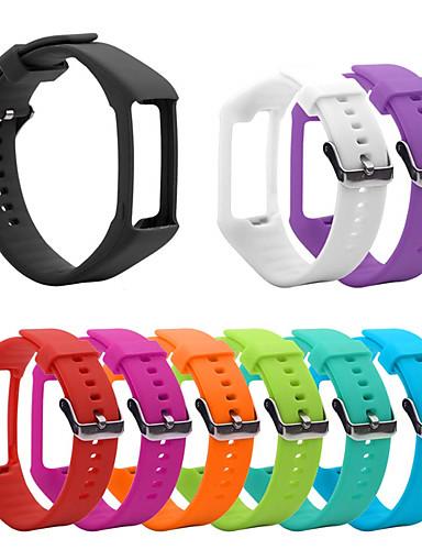סיליקון רצועת הלהקה הלהקה עבור הקוטב a360 a370 שעון חכם החלפת צמיד רך watchband חגורה לצפות צמיד אביזר
