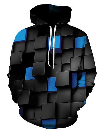 preiswerte Herrenpullover-Herrn Grundlegend Kapuzenshirt 3D