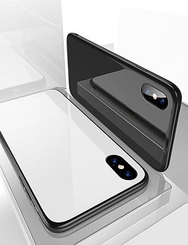 מגן עבור Apple iPhone X עמיד בזעזועים / עמיד לאבק כיסוי אחורי אחיד רך TPU ל iPhone X