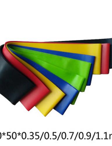 povoljno Vježbanje, fitness i joga-Trake za vježbanje 5 cm Prečnik Latex svila Život Yoga Za Uniseks