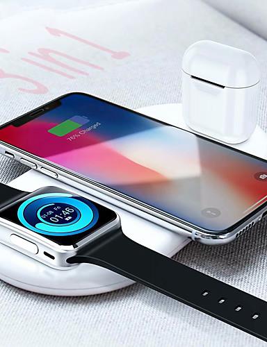 floveme 3-in-1 מטען אלחוטי עבור הטלפון הנייד Apple לצפות שעון airpod 7.5w / 10w תשלום מהיר