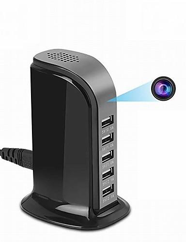 preiswerte Schutz & Sicherheit-ht5 2mp ip kamera indoor unterstützung 128 gb bewegungserkennung 5 usb port integrierte mikrofon überwachungskamera 1/4 zoll farbe cmos sensor handy überwachung video diktiergerät dv