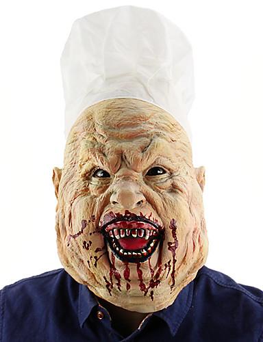 povoljno Maske i kostimi-Cosplay Nošnje Mask Povorka maski Inspirirana Kuhar Stravičan film Obala Halloween Božić Halloween Karneval Odrasli Muškarci Žene